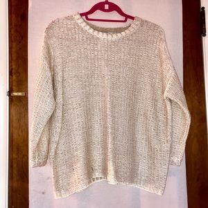 Sweaters - Cream-colored sweater